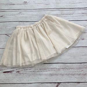 Baby Gap Cream Tutu Skirt Size 3